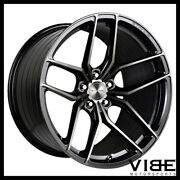 21 Stance Sf03 Black Concave Wheels Rims Fits Cadillac Cts V Coupe