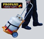 Propane Tank Gauge Gas Level Easy Cart Bbq Grill Hand Truck Tank Not Included
