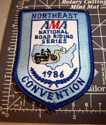 Northeast Ama Boat Riding Series 1986 Conv Embroidered Patch Great Collectible
