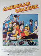 National Lampoonand039s Animal House - Landis / College - Rare Style B Movie Poster