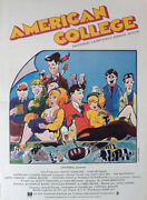 National Lampoon's Animal House - Landis / College - Rare Style B Movie Poster