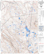 Mt. Hood National Forest Topographic Maps - 14 X 17 - Laminated - 59 Map Set
