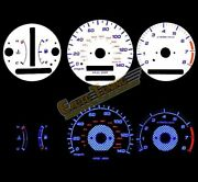 White Indiglo Gauges Kit Glow Blue Reverse For 97-01 Camry /99-01 Solara At Only