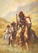 Price Reduced Howard Terpning Legend Of Geronimo Masterwork Canvas Giclee 31/176