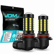 Jdm Astar 1600lm H10 9145 3030-led Fog Driving Lights Xenon White Bulbs Lamp 2pc