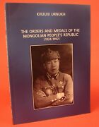 Mongolian Orders And Medals Book Soviet Era Mongolia Big Photo Catalog In English