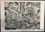 Original 1984 S. Clay Wilson Underground Comic Artist Limited Signed Lithograph