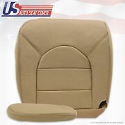 2000 Ford F-250 F350 Diesel 4x4 Driver Bottom Leather Seat Cover And Armrest Tan