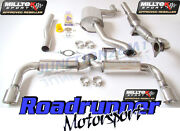 Milltek Scirocco R Exhaust System 3 And Race Dpipe Cat 200 Cell Res Rear Silencer
