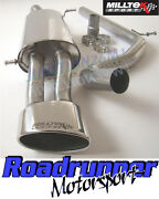 Milltek Ibiza 1.8 20vt Cupra Exhaust Cat Back System Non Res Oval Tail Ssxse122