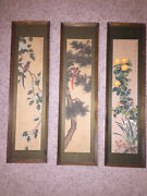 Six Vintage/antique Chinese Watercolor Paintings