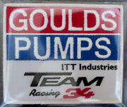 Goulds Pumps Willabee And Ward Mike Mclaughlin Nascar Race Team Patch Patch Only