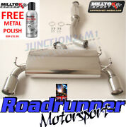 Milltek Exhaust System Fits - 350z 3 Centre Section And Rear Silencer Exc Y-pipe