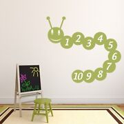 Number Caterpillar Counting Math Wall Decal Sticker Ws-34465