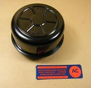 1957-58 Pontiac 3/2 Carb And Fuel Injection Deluxe Oil Cap With Decal, C1553179rs