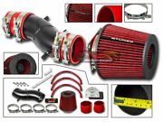 Matte Ram Air Intake + Red Filter For 93-97 Altima 91-99 Sentra 200sx G20 2.0l