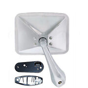 70 71 72 Chevy Truck Square Rectangle Chrome Outside Rear View Rh Door Mirror