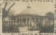 Ponce Puerto Rico 1907 Ponce Flag Cancel Real Photo Postcard Jrf
