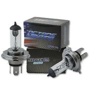 Motorcycle H4 Halogen Headlight Headlamp Replacement Clear Bulbs 12v 60/55w Pair