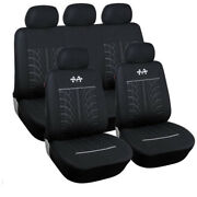 9pcs Sports Style Car Seat Covers Auto Seat Protector Washable Car Styling 2017