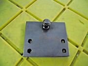 Gas Spring Lift Stainless Steel 90andordm Mounting Bracket 3 1/2 X 3 X 5/8 Ball