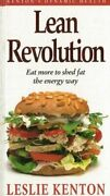 Leslie Kenton Lean Revolution Eat More To Shed Fat The Energy Way 1994 Hc Book