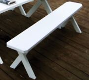 Aandl Furniture Co. Amish-made Pine Cross-leg Benches - In 6 Sizes And 18 Finishes