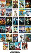 29 Kids Movies Collection Dvd Open Season, Robots, Narnia Only 2.75 A Movie