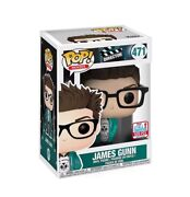 Funko Pop Nycc 2017 Fall Convention Exclusive James Gunn 500 Limited Rare Le