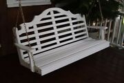 Aandl Furniture Co. Amish-made Pine Marlboro Porch Swings - In 3 Sizes 18 Colors