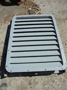 Ship Trawler 1/4 Aluminum 48 5/8 X 36 3/4 Od Louvered Marine Boat Build Vent