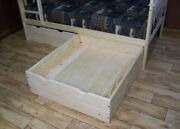 Versaloft Amish-made Yellow Pine 2 Piece Full Bed Drawers By Aandl Furniture Co.