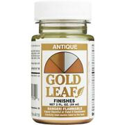 12-sheffield Gold Leaf 2 Oz Antique Gold High Gloss Solvent Based Paint 1719