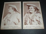 Cdv Old Photograph Actor William Rignold Lock And Whitfield London C1870s
