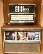 Vintage Seeburg Ebs52 Consolette Speaker And Dec3 Wallbox Wall Console - Untested