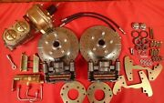 1964 1965 1966 Ford Mustang Six Cylinder 5 Lug Power Front Disc Brake Conversion