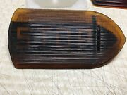 Vintage Guide R-t5a Stop Turn Signal Light Fire Truck Bus Old Amber Glass Lens
