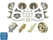 1964-72 Chevrolet Chevelle Power Disc Brake Conversion With Booster