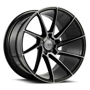 19 Savini Bm15 Tinted Directional Concave Wheels Rims Fits Ford Mustang