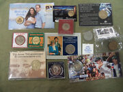 Cc10. 3. Jot Lot Of Coins And Medals