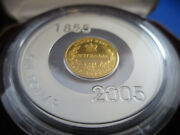 2005 1 Sydney Mint Subscription Coin - 1855 Half Sov. Gold Plated Silver Proof