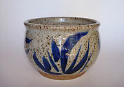 "Listed Artist JACK PHARO (1902-1991) Wichita Kansas Studio Pottery 4""H x 5 1/2""D"