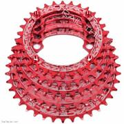 Raceface Red Narrow-wide 30,32,34,36,38t X 104 Mtb Chainring 9 10 11 12-speed