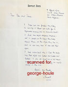 Stewart Stern - Letter - Autograph - Rebel Without A Cause - James Dean - Aa Nom