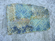 Pottery Tray by Becky Terry  Handmade Sloping Rectangular 10 1/2in. Glazed