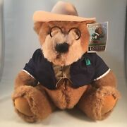 1992 Lands End Authentic Big Daddy Bear Plush With Tags 12