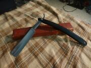 Antique Wade And Butcher Straight Razor Shapleigh Hdw. Co. St. Louis Usa Case Vg