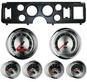 79-86 Mustang Carbon Dash Carrier W/ Auto Meter American Muscle Gauges