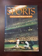 1954 Sports Illustrated First Issue W/ Topps Cards Insert Scarce