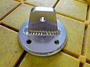 1/4 Thick Aluminum Boat Tower Base Plate Oval 3 1/2 Od X 2 H 5 /16 Hole